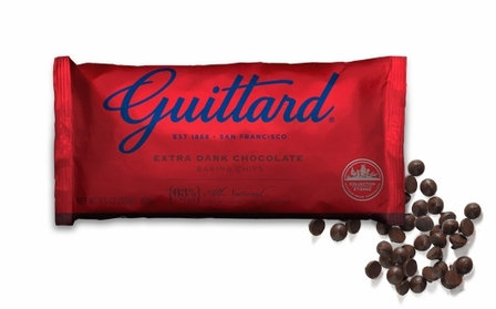 "Guittard Chocolate - ""Extra Dark Chocolate Chips"", 63% Cocoa, 11.5oz/326g (12 Pack)"