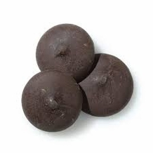 """Guittard Chocolate - Guittard's Classic """"Onyx"""" Wafers - Extra Bittersweet, 72% Cocoa, Repackaged,2lb (Single)"""