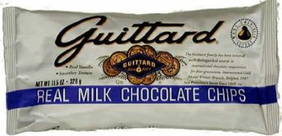 """Guittard Chocolate - """"Real Milk Chocolate Chips"""" Milk Chocolate Chips, 11.5oz./326g(6 pack)"""