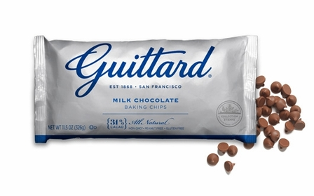 "Guittard Chocolate - ""Real Milk Chocolate Chips"" Milk Chocolate Chips, 11.5oz./326g (12 Pack)"