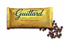 "Guittard Chocolate - ""Real Semisweet Chocolate Chips"", 12oz./340g (12 Pack)"