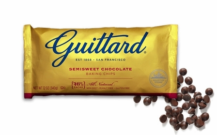 "Guittard Chocolate - ""Real Semisweet Chocolate Chips"", 12oz./340g (Single)"