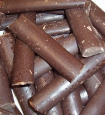 "Guittard Chocolate - ""Semi - Sweet Dark Chocolate Batons"", 2lb Bag, Repackaged (Single)"