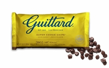 "Guittard Chocolate - ""Super Cookie Chips"" Semisweet Chocolate, 10oz./283g (12 Pack)"