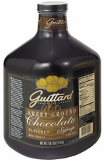 "Guittard Chocolate - Sweet Ground ""Chocolate"" Syrup, 95oz (4 Pack)"