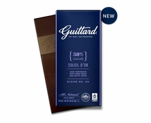 GUITTARD SOLEIL D'OR 38% COCOA MILK CHOCOLATE 2.65OZ (Pack of 5)