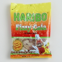 Haribo Fizzy Cola 5oz./142 grams SINGLE