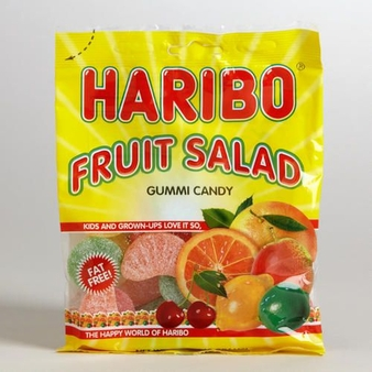 Haribo Fruit Salad 5oz./142 grams  SINGLE
