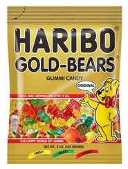 Haribo - Gold Bears 5oz./142g (6 Pack)