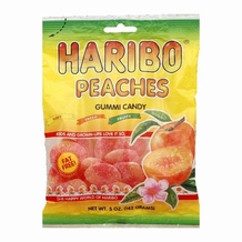 Haribo Peaches 5oz./142 grams (6 pack)