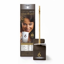 "Hot Chocolate Sticks ""Dark Chocolate"", 1.164oz / 33g (6 Pack)"