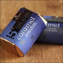 "Lake Champlain Chocolates - Five Star Bar ""Caramel"", Milk Chocolate, 2 oz. (Single)"