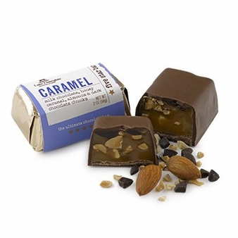 "Lake Champlain Chocolates - Five Star Bar ""Caramel"", Milk Chocolate, 2 oz. (8 Pack)"