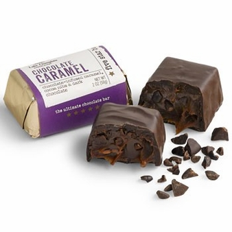 "Lake Champlain Chocolates - Five Star Bar ""Chocolate Caramel"" Dark Chocolate, 2 oz."