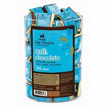 "Lake Champlain Chocolates - ""Milk Squares"", Milk Chocolate 34% Cocoa, .4 oz."