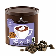 "Lake Champlain Chocolates - ""Old World"" Drinking Chocolate, Shavings, 54% Cocoa, 9.5 oz."