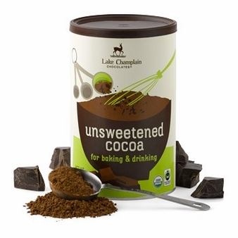 "Lake Champlain Chocolates - Organic Fair Trade ""Unsweetened Cocoa"", 10 oz."