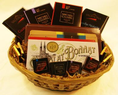 "Large ""French Chocolate Gift Basket"""