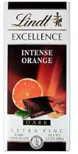 Lindt Chocolate - Excellence Dark Chocolate with Intense Orange, 100g/3.5oz. (12 Pack)