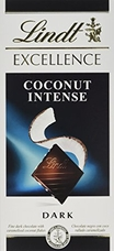"Lindt Chocolate - Lindt Excellence ""Coconut Dark"", 100g/3.5oz. (12 Pack)"