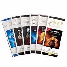 Lindt Chocolate Bars - Excellence