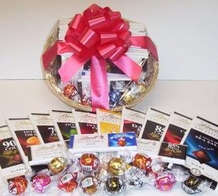 Lindt Excellence Gourmet Chocolate Gift Basket