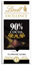 Lindt �Excellence� Dark Chocolate Bars - 100g / 3.5oz