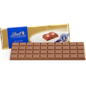 "Lindt Swiss Chocolate - Milk Chocolate ""Gold Wrap"" Bar, 300g/10.58oz. (Single)"