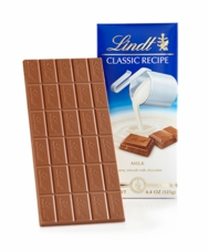 Lindt - Swiss Classic Milk Chocolate, 125g/4.4oz (12 Pack)