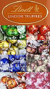 Lindt Truffle Basket - Lindt Mixed Variety of Truffles (All Flavors) - 120 Pieces