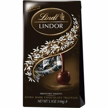 "Lindt Truffle - Lindt Lindor Truffles ""60% Extra Dark Chocolate with a smooth filling"" 12 Piece Bag, 144g/5.1oz. (12 Pack)"