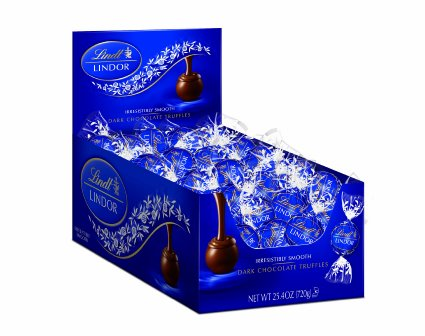 Lindt Truffle - Lindt Lindor Truffles Dark Chocolate 60 Count Box