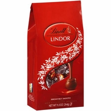 Lindt Truffle - Lindt Lindor Truffles Milk Chocolate (red wrap), 9.3oz bag (Single)