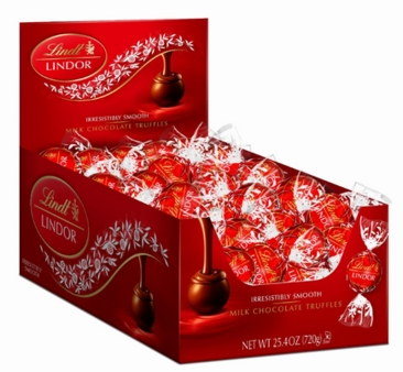 Lindt Truffle - Lindt Lindor Truffles Milk Chocolate 60 Count Box