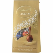 "Lindt Truffle - Lindt Lindor Truffles Milk, Dark and White ""12 Piece assorted bag"", 144g/5.1oz. (6 Pack)"
