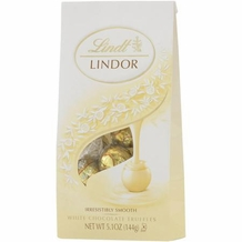 "Lindt Truffle - Lindt Lindor Truffles ""White Chocolate with a Smooth Filling"" 12 Piece Bag, 144g/5.1oz. (12 Pack)"
