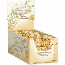 Lindt Truffle - Lindt Lindor White Chocolate Truffles 120 ct. Box