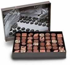 "Michel Cluizel - ""48 Chocolates"" Dark and Milk Gift Box, 525g/18.51oz."