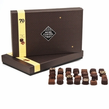 "Michel Cluizel - ""70 Dark & Milk Chocolates"" Gift Box, 765g/26.98oz (Single)."