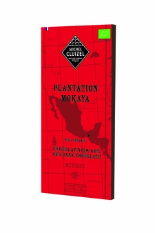 "Michel Cluizel Chocolate - 1st Cru de Plantation ""Mokaya"" Organic 66% Dark Chocolate, Single Estate, 70g/2.46oz.  (20 Pack)"