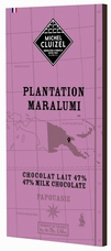 "Michel Cluizel Chocolate - 47% 1st Cru de Plantation ""Maralumi"" MILK Chocolate, Single Estate, 70g/2.46oz. (5 Pack)"