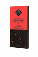 "Michel Cluizel Chocolate - Eclats Caramel - ""Milk Salted Butter Caramel"" Bar, 3.5oz/100g. (5 Pack)"