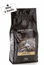"Michel Cluizel - ""Elianza Ivoire Chocolate Chips"", 34% Cocoa, 3kg/6lbs 9oz (Single)"
