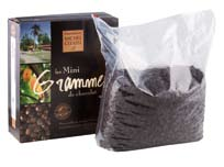 "Michel Cluizel - ""Elianza Noir Couverture Pastilles"", 55% Cocoa, 1 Pound Bag (Single)."