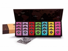 "Michel Cluizel French Chocolate - 28 Piece ""Single Estate"" Gift Box, 140g/4.9oz. (Single)."