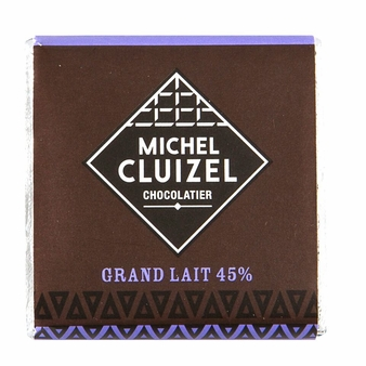 Michel Cluizel French Chocolate - 45% Milk Chocolate Bar, 5gr. ea. (Single).
