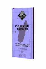 "Michel Cluizel French Chocolate - 50% 1st Cru de Plantation ""Mangaro"" Milk Chocolate, Single Estate, 70g/2.46oz. (Single)."