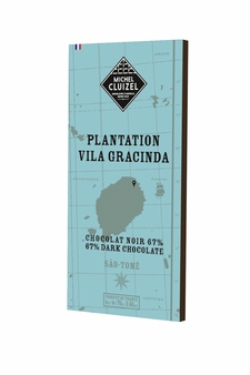 "Michel Cluizel French Chocolate - 67% 1st Cru de Plantation ""Vila Gracinda"" Dark Chocolate, Single Estate, 70g/2.46oz (20 Pack)."
