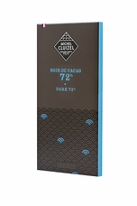 "Michel Cluizel French Chocolate - 72% Cocoa ""Noir De Cacao"" Dark Chocolate, 70g/2.46oz. (Single)"