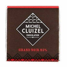 "Michel Cluizel French Chocolate - 85% Cocoa ""Grand Noir"" Dark Chocolate, 5gr. ea.(Single)."